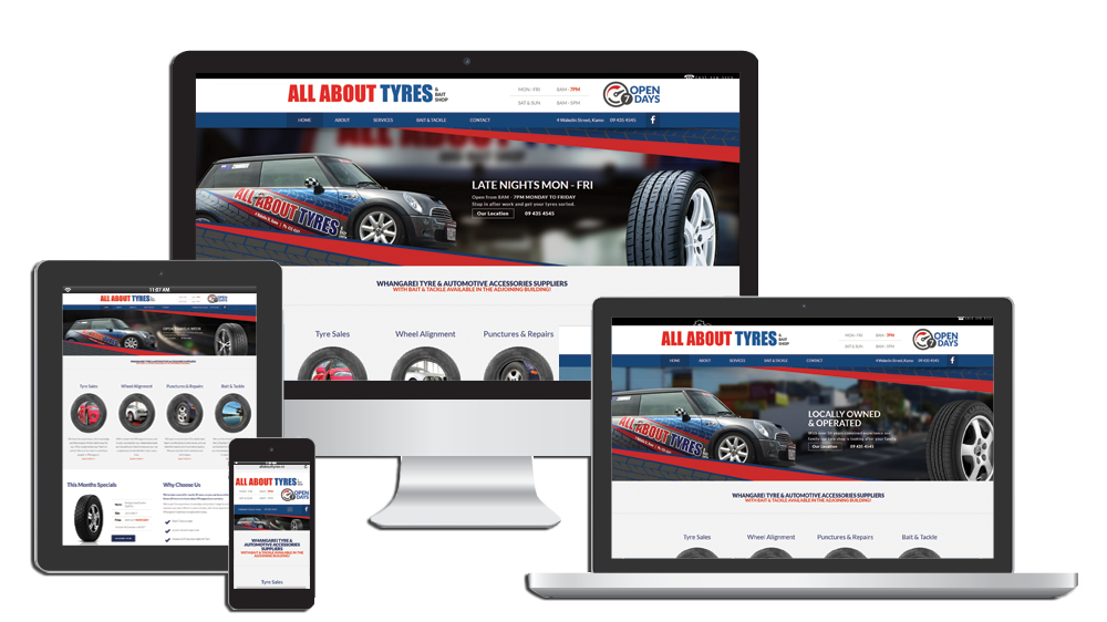 Tire Shop Open Late >> Tire Dealers Websites